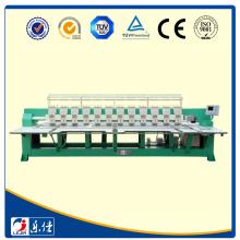 Lejia máquina de bordar plana computadorizada de alto desempenho com cortador automático de rosca