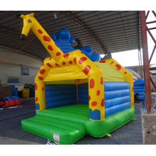 Outdoor Commercial Inflatable Bouncers Jumper Castle For Kids Play , Lead Free