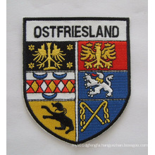 Land Name Patch City View Embroidery Badge (GZHY-PATCH-011)