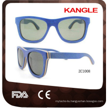classical 400 uv protect wood sunglasses