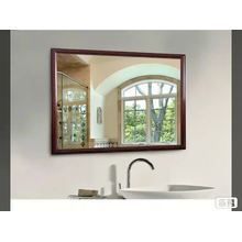 Factory customized siver bathroom mirror with low price