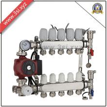 Séparateur de distribution d'eau anti-corrosion pour système de chauffage par le sol (YZF-L148)