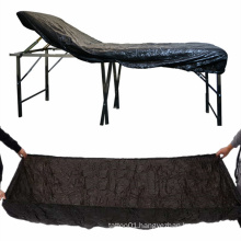 Tattoo Supplies Antifouling Dustproof Sheets Black Plastic Disposable Tattoo Bed Chair Cover