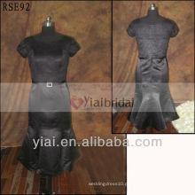 RSE 92 Tea Length Mãe dos vestidos de noiva com manga