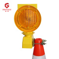 Road Barricade Light Flashing Led Solar Warning Lamp