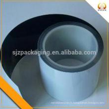 Film noir en polyéthylène blanc pour sac d'emballage