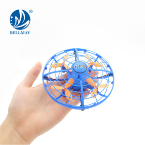 Infrared Sensing Gesture Controlled Suspension Induction UFO Drone for Multiplayers