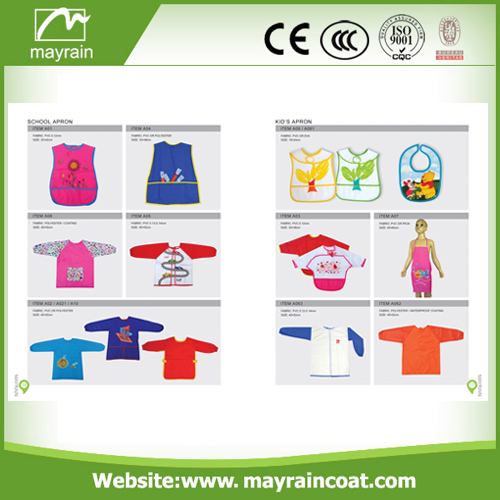 Disposable Cute PE Smock