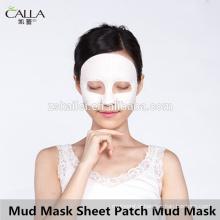 Patch de feuille de masque de boue purifiant masque de boue noire