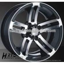 HRTC 13 * 6.0 Réplique de travail de roue en aluminium avec lèvre profonde