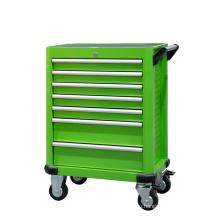 7 ящиков Зеленый прокатный инструмент для хранения