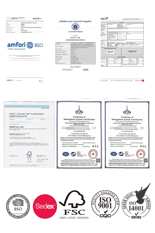 EISHO certificates