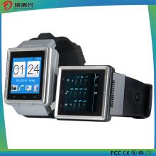 S6 Smart Watch, Support 3G, GPS, Bluetooth, Microphone, Haut-parleur, Emplacement pour carte TF, Micro USB, FM, WiFi