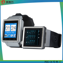 S6 Smart Watch, Support 3G, GPS, Bluetooth, Microphone, Speaker, TF Card Slot, Micro USB Slot, FM, , WiFi