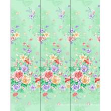 2015 nuevo diseño y tela 100% algodón caliente de la venta para las hojas de cama