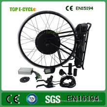 China Fabricante frete grátis 48 V 1000 W kit de conversão de bicicleta elétrica