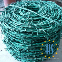 PVC Coated Iron Barbed Wire