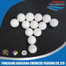 высокие тугоплавкие шарики глинозема керамические носителя катализатора