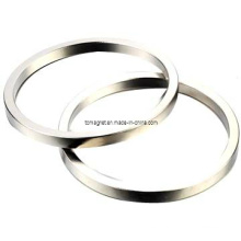 Imanes de anillo con niquelado