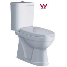 Watermark lavado de artículos sanitarios de dos piezas de cerámica WC Bowl (8004)