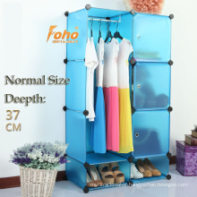 Blue Plastic DIY Storage Cbinet with Many Colors Available (FH-AL0523-3)