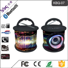 Shenzhen factory bluetooth portable led mp3 speaker with usb port