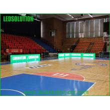 Pantalla LED perimetral vendedora caliente del estadio de Basktball con precio bajo