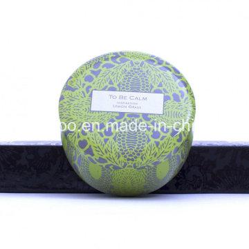 @Work Seriess Inspiration Cera de soja orgánica vela perfumada de estaño natural