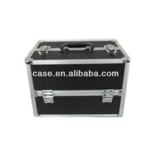 2013 new hot black aluminum make up case