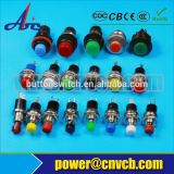 waterproof push button switch 22mm Plastic button /push button switch