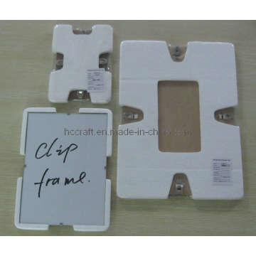 Clip Glass Photo Frame for Home Decoration (640011)