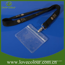 Transparent waterproof PVC ID card holder