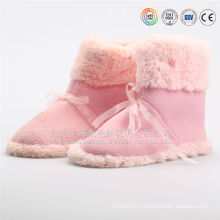 plush indoor slipper boots