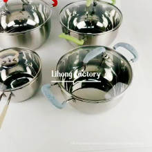 new arrival stainless steel mini portable travel cooker with camping cooking pot