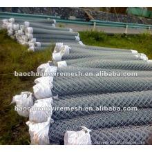 Verzinkter oder PVC-beschichteter Kettenglied im Lager (Anping Fabrik)