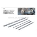 bultra-resistant injection machine screw
