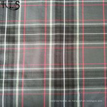 Baumwolle überprüft Popeline gewebtes Garn gefärbtes Gewebe für Hemden / Kleid Rlspo40-38