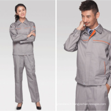 Cotton Soft Worker Uniform pour filles Worker Clothes Factory Working Uniform Polyester Antistatique Vêtements de travail en gros