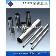 Mejor astm a269 tp304 tubo de acero inoxidable sin soldadura