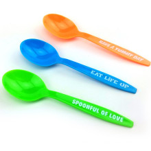 PP/PS Disposable Spoon Plastic Spoon 15cm Plastic Spoon