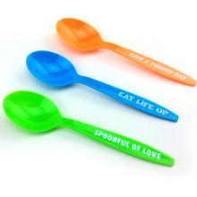 PP / PS одноразовая ложка пластиковая ложка 15см пластиковая ложка