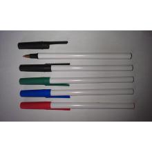 Caneta Esferográfica De Plástico Barato para Caneta Esferográfica Promocional