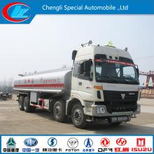 Foton Oil Transportation Tank Truck 26cbm 28cbm 30cbm Crude Oil Fuel Tanker Truck