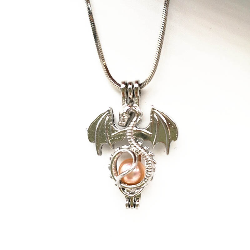 Pterosaurs Locket Necklace