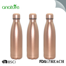 Rose Gold Painting Double Insulated Steel Water Bottle