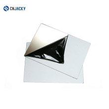Placa de aço A4 Matte para laminação de cartão fosco