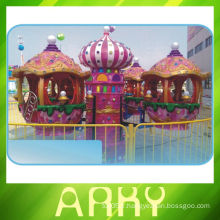 Carrousel du parc d'attractions
