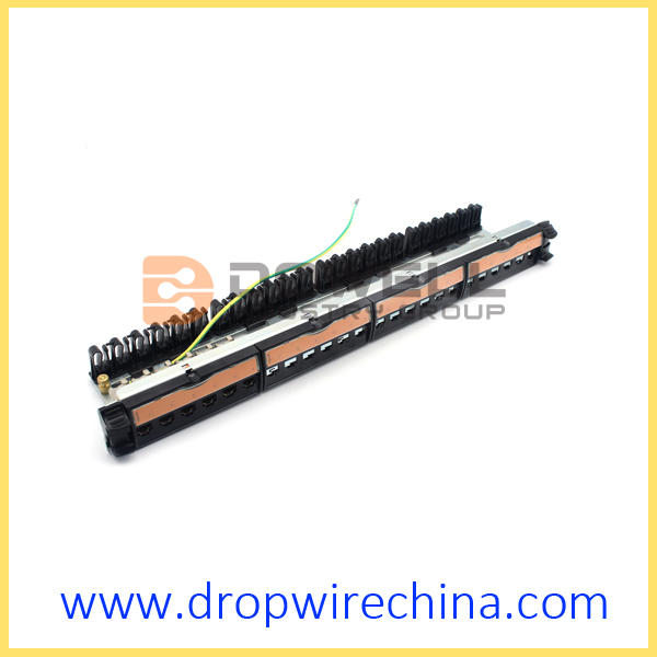 Legrand LCS2 24 Port Cat.6A FTP Patch Panel