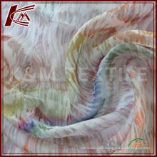 China Supplier Silk Chiffon Fabric with Custom Printing