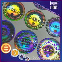Secure 3D Anti-fake Hologram Label Seal